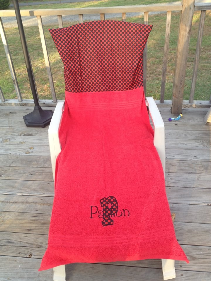 Tired Of Your Towel Never Staying On Your Chair When You Layout! You Need A  Lounge Chair Cover!