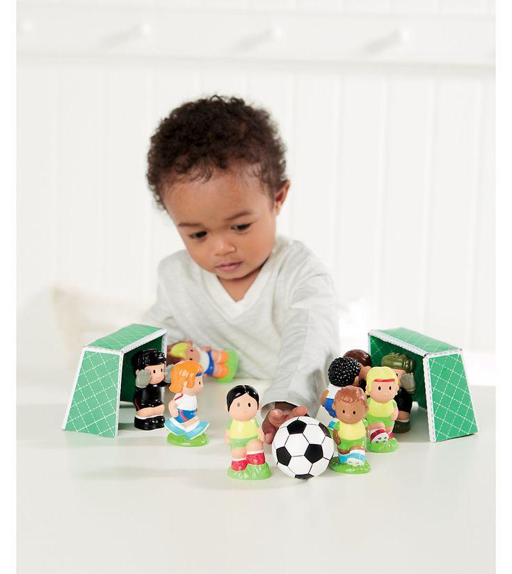 Набор футболисты ELC 138503 - купить набор футболисты elc 138503 для детей, цена в интернет-магазине развивающих игрушек Elc-russia.ru