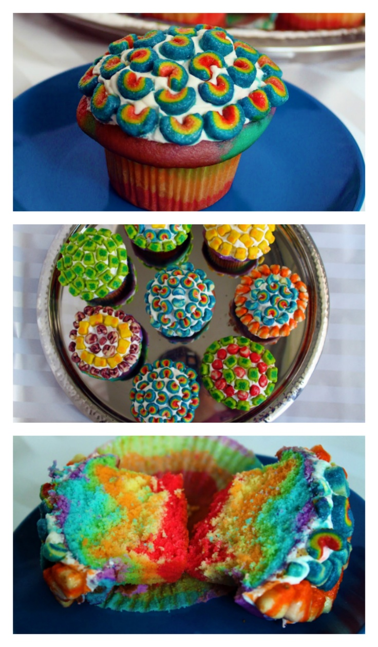 lucky charms cupcakes | Scrambled Eggs | Pinterest