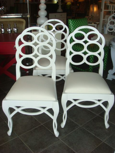 High Quality C Bell Furnishing   Frances Elkins Style Loop Chairs