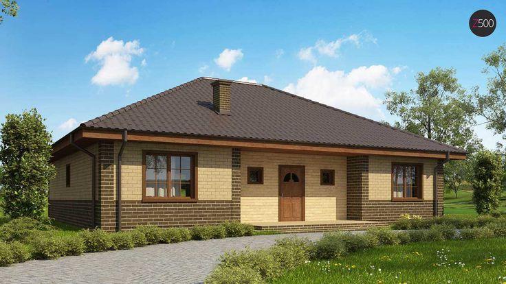 Общая площадь134,1 м2 Проект дома Z10_k отличный вариант для небольшого компактного дома.