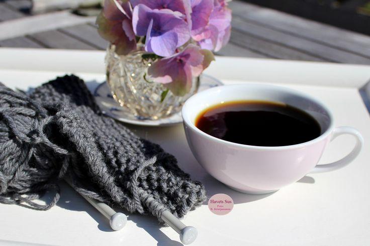 Knitting Falby Falbydesign kaffe coffee summer 2015 Havetssus