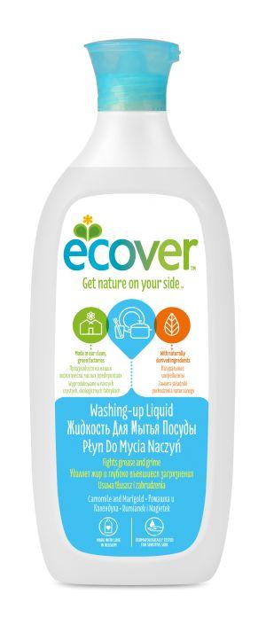 Экологическая жидкость для мытья посуды с ромашкой и календулой - Ecover