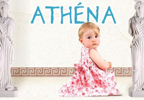 Un prénom légendaire ! Dans la mythologie grecque, Athéna est la déesse de la Sagesse, des Sciences et des Arts. Peu attribué en France, certains lui préfèreront Athénaïs, contraction d'Athéna et d'Anaïs. Ses variantes Athénéa et Athina plairont également aux familles en quête d'un prénom rare. Fiables et tenaces, les Athéna tiennent toujours leurs engagements.