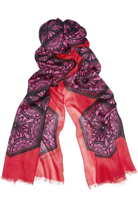 Modal Scarf - Wild Strawberry by VIDA VIDA