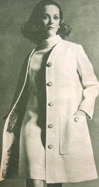 OĞUZ TOPOĞLU : star paris 1970 senesi fransız modacılar manto mod...
