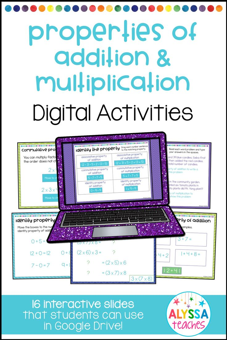 worksheet Working With The Properties Of Mathematics best 25 properties of addition ideas on pinterest and multiplication digital activities
