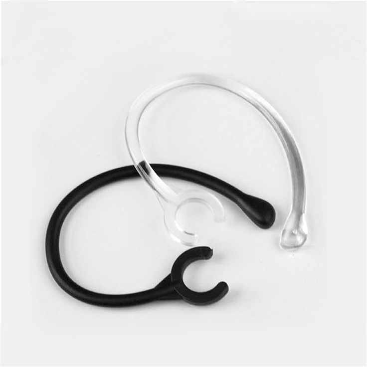 Malloom 2017 New Arrival 6pc Ear Hook Loop Replacement Bluetooth Repair Parts One size fits most 6mm for Samsung for LG #LYFE23