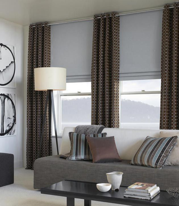 Pin By Jenel Roberts On There Is No Place Like Home Contemporary Curtains Modern Window Treatments Curtains Living Room