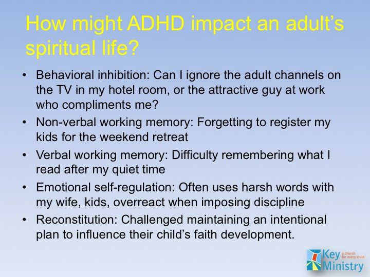 Adhd mental health the impact and implications