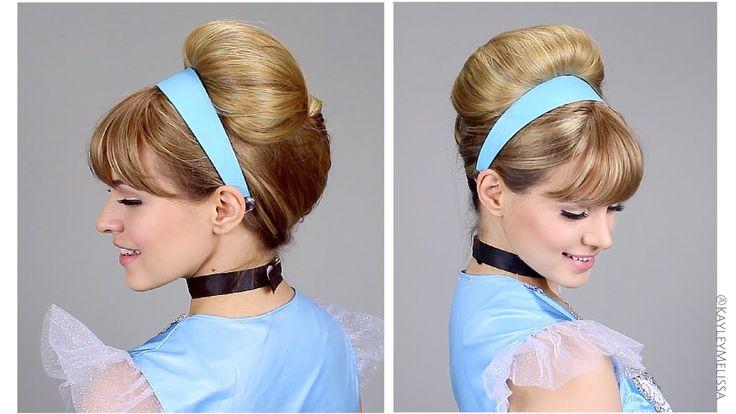 Disney's princess Cinderella hair tutorial by Kayley Melissa
