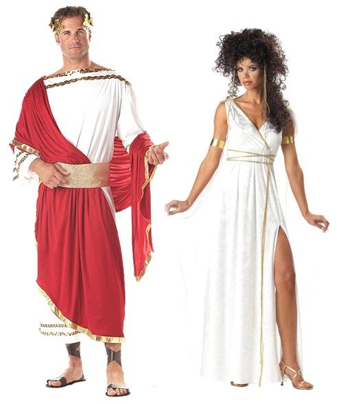 Roman God and Goddess /Greek Couple Costumes, Group ...