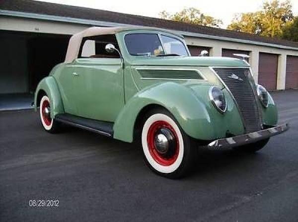 37 Ford Cabriolet! & 500 best Antique Cars - Ford images on Pinterest | Vintage cars ... markmcfarlin.com
