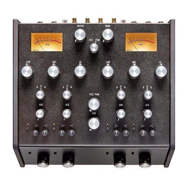 The new Isonoe ISO420 rotary DJ mixer looks interesting.