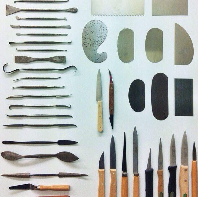 Throwing and ceramic sculpting tools