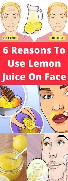 Citronjuice til hudpleje