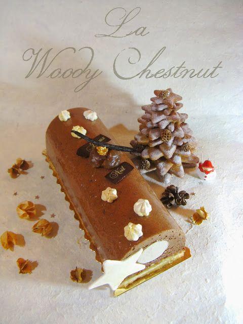 J'en reprendrai bien un bout...: Bûche Noël 2013 -  La Woody Chestnut