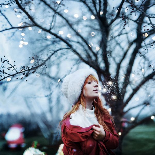 I will give you winter if you wish Conceptual Photography by Karrah Kobus