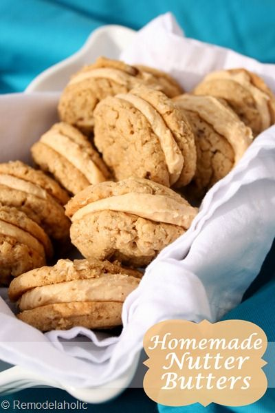 Homemade Nutter butter cookies - these could be dangerous.
