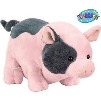 Webkinz Plush Stuffed Animal Pot Belly Pig