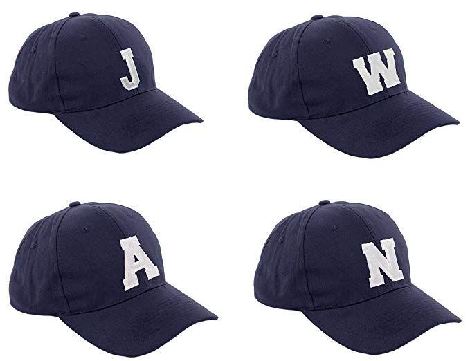 Morefaz New Boy Girl Adjustable Baseball Cap Nave Children School Caps Kids Hat Sport Alphabet A-Z MFAZ Ltd
