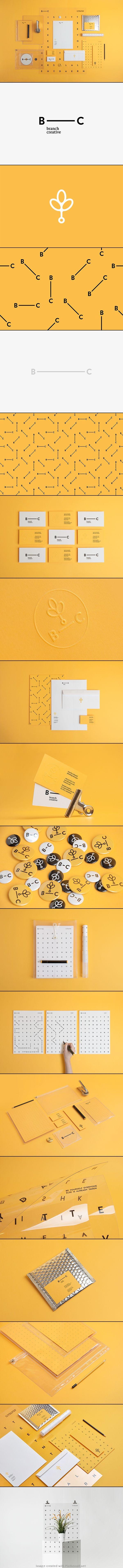 Bunch Creative  https://www.behance.net/gallery/Branch-Creative/14449321 - created via http://pinthemall.net