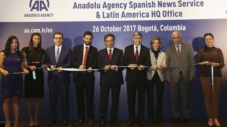 Anadolu Ajansı, 13'üncü yayın dili İspanyolcaya, Kolombiya Dışişleri Bakan Yardımcısı Patti Londono Jaramillo'nun katıldığı törenle resmen başladı.