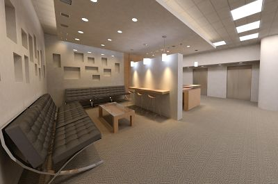 Rendering in revit vs autodesk cloud renderings - Interior design vs architecture ...