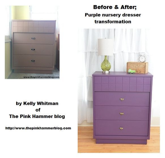 Purple chest of drawers.... anyone!