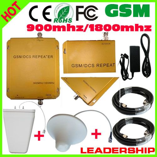 ==> [Free Shipping] Buy Best Free shipping RF GSM/DCS 900mhz/1800mhz cellular mobile/cell phone signal repeater booster amplifier detector cable antennas Online with LOWEST Price | 572152537