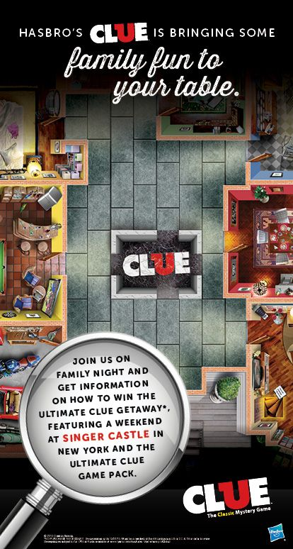clue giveaway