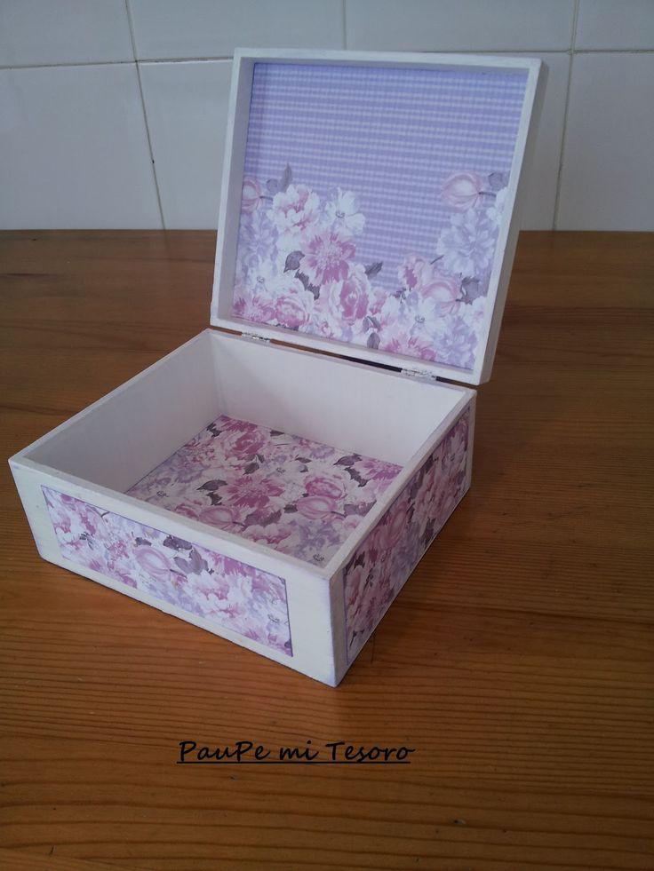 PauPe : Reciclando cajas....