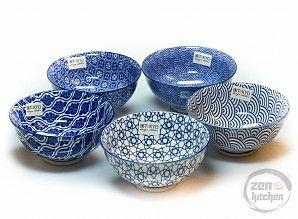 Tokyo Design Studio Bowls Blue (5-Set)