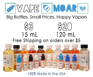 Daily Vape Deals! We help vapers find the best prices on vape mods, ejuice, box mods, and other vaping supplies . We also post vape shop coupon codes, e-cig reviews and other vaping related articles at Vaping Cheap