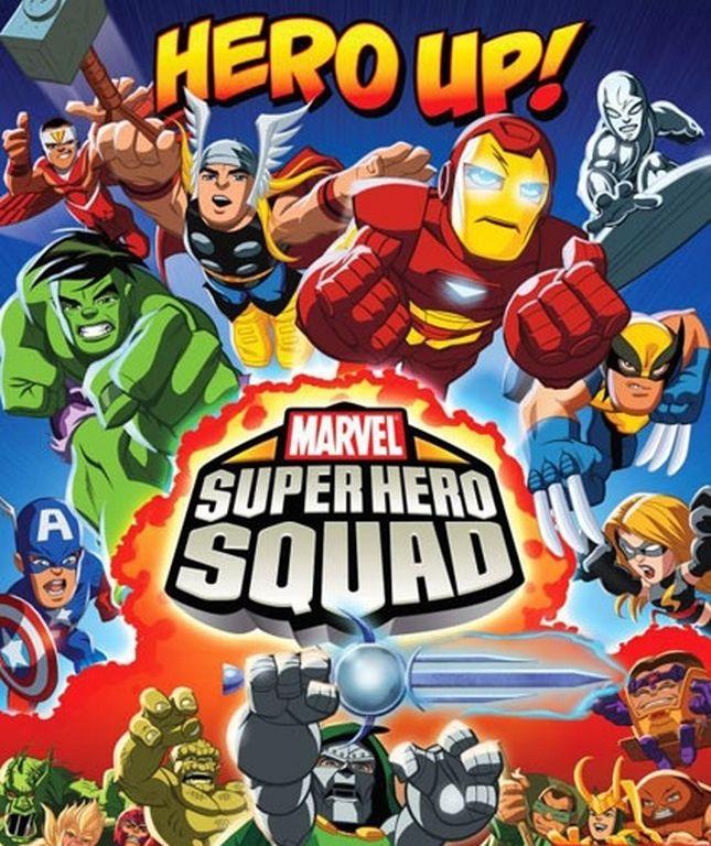 The Super Hero Squad Show (TV Series) Hero squad, Super