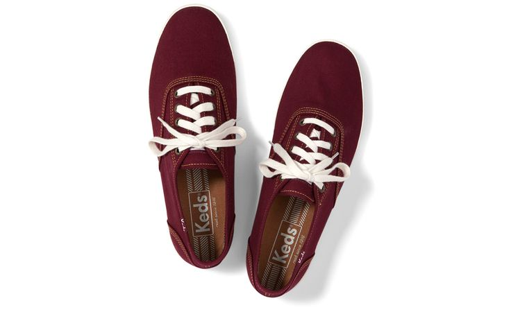 keds shoes for women maroon