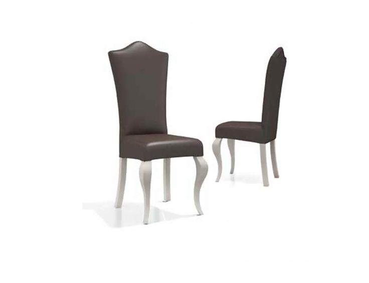 Silla de madera para mesa de salón comedor de estilo clásico moderno