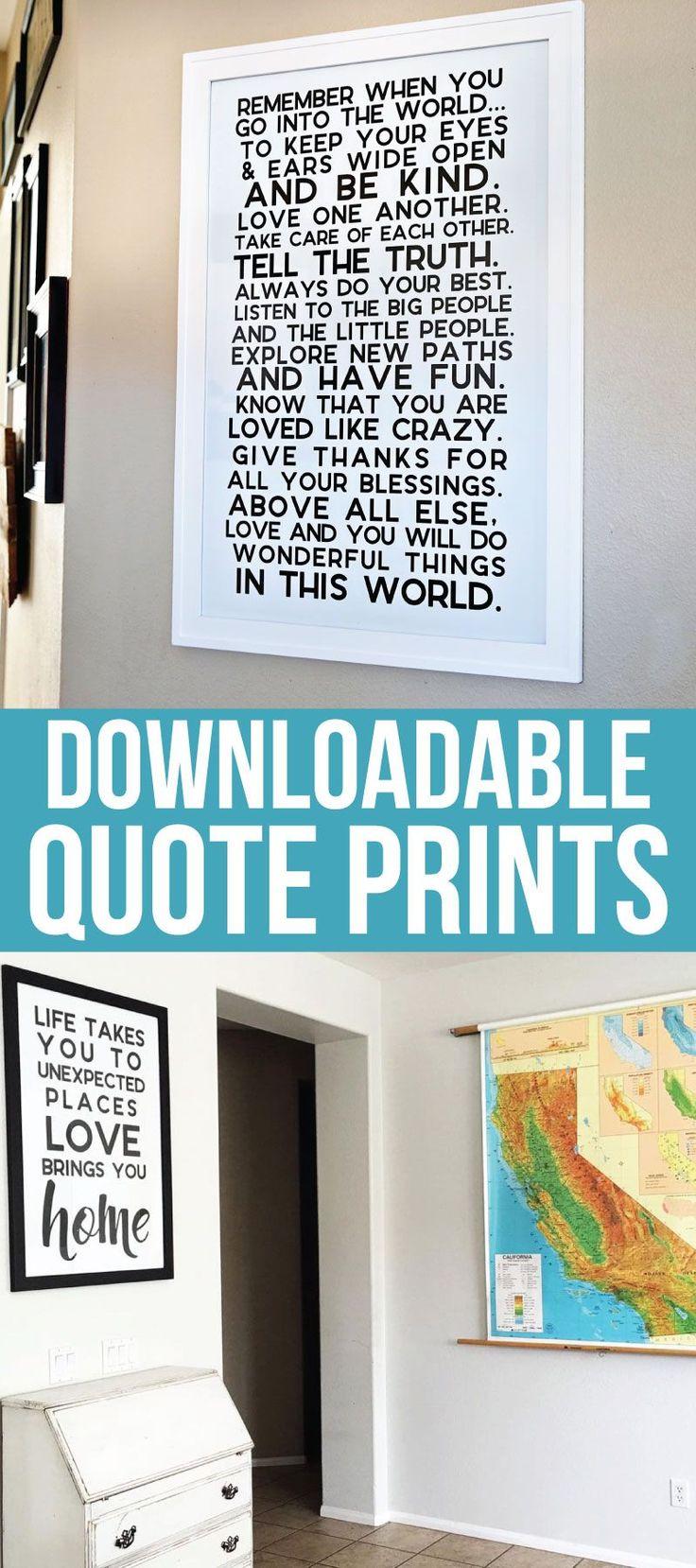 25+ unique Quote decorations ideas on Pinterest | College dorm ...