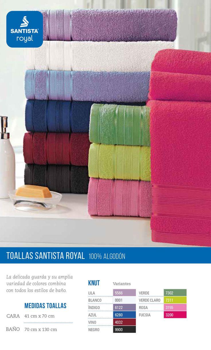 #Toallas y toallones #Santista Royal. 100% algodón  #CuencaTextil
