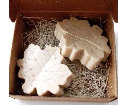Juhar levél alakú pici illatos szappanok természetes anyagokból, remek ajándék nőnapra, barátnőnek