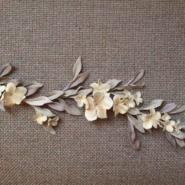 Aplicación floral efecto 3D. Le Touquet