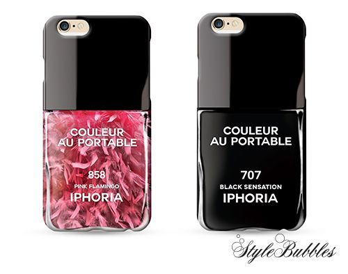 Sweet pink or strong black? Choose the iPhone case that suits you best!  #Stylebubbles #iphoneaccessories #fashionaccessories #fashion #shoponline #iphoria