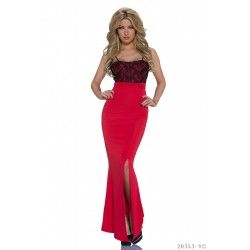 Rochie Delicious Curves Red