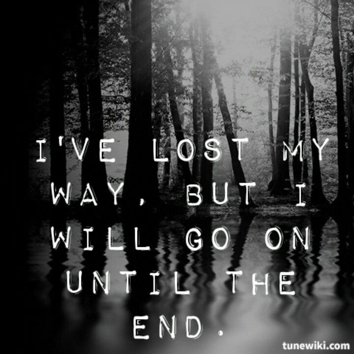 Until the End - Breaking Benjamin Been loving the crap outta this song lately.