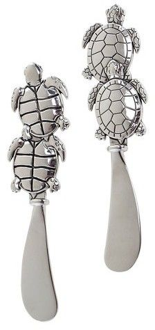 Thirstystone Turtle Spreaders Set of 2 - Pewter