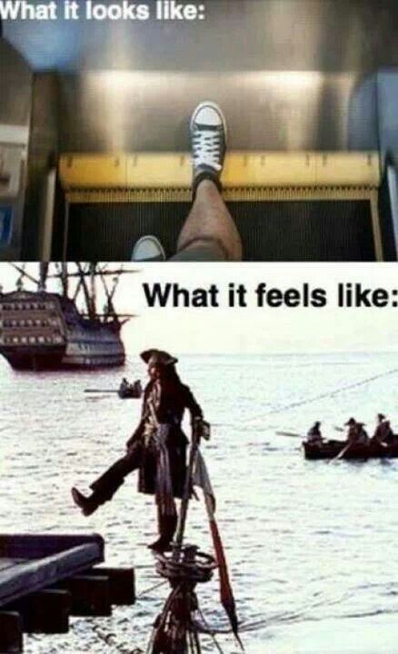 Pirates of the Caribbean joke