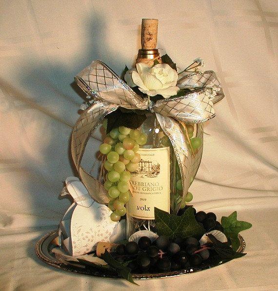 Flower Arrangements In Wine Bottles: 80 Best Grape Centerpiece Images On Pinterest