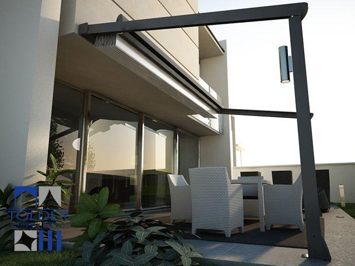 Toldos para terrazas buscar con google techo terraza for Toldos para techos