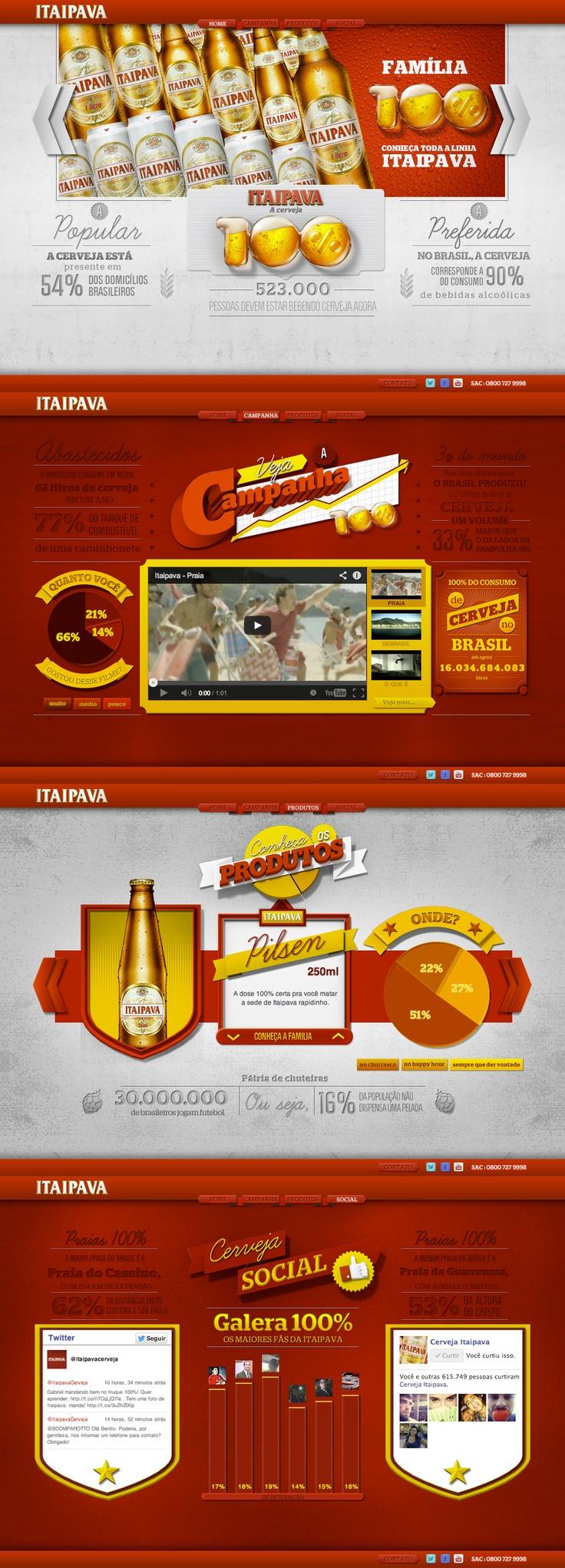 Unique Web Design, Itaipava #WebDesign #Design (http://www.pinterest.com/aldenchong/)