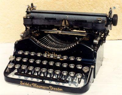 """SIDRO """"Alte Schreibmaschinen"""""""